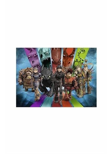 Ravensburger 200 Parça Puzzle Dragons3 126293 Renkli